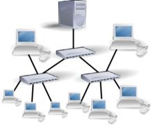 شبكة حاسوب Wikiwand
