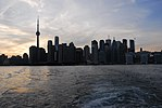 Toronto Skyline from Ward's Island Ferry (19776088221).jpg