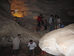 Tourists at Longhorn Cavern IMG 2026.JPG