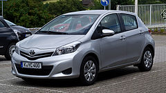 Toyota Yaris III przed liftingiem