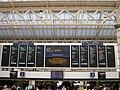 Train indicator board, Charing Cross Railway Station, Strand WC2 - geograph.org.uk - 1284496.jpg