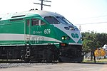 Trainspotting GO train -918 headed by MPI MP40PH-3C -609 (8123458908).jpg