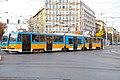 Tram in Sofia near Macedonia place 2012 PD 095.jpg