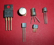 The transistor was invented at Bell Labs in 1947.