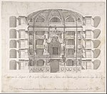 Transverse Section of the Small Theater in the Palace of Caserta with a View Towards the Royal Box MET DP801614.jpg