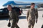 Trump visits MacDill Air Force Base (32715573376).jpg