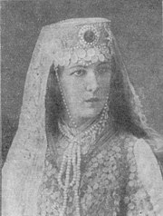 Tsvetkova in the role of Fatima