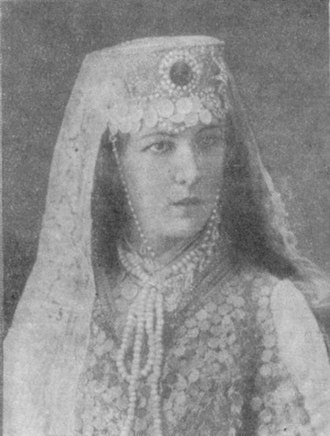 Prisoner of the Caucasus (opera) - Tsvetkova in the role of Fatima