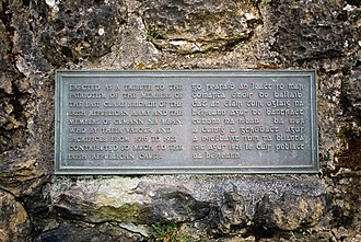 Cumann na mBan - Memorial plaque, 1916 (Easter Rising) – 1921, (IRA, East Clare Brigade, and Cumann na mBan), in Tuamgraney, Co. Clare, Ireland