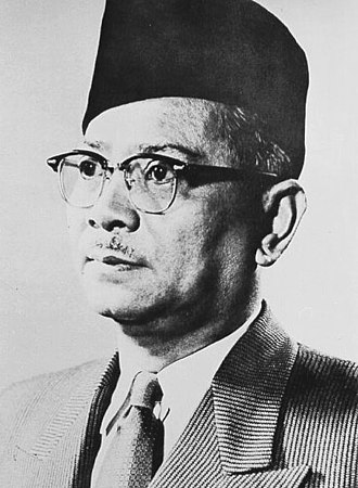 United Malays National Organisation - Tunku Abdul Rahman, first Prime Minister of Malaya