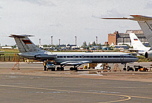 Armenian Airlines - Armenian Airlines Tupolev Tu-134A at Moscow (Vnukovo) Airport in 1994