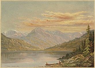 Twin Lakes, Lake County, Colorado - Twin Lakes, Colorado (Boston Public Library)