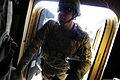 U.S. Army Capt. Jason Caldwell, a member of the Farah Provincial Reconstruction Team (PRT) security force, prepares to depart Forward Operating Base Farah for a mission in Farah city, Farah province 120829-N-II659-498.jpg