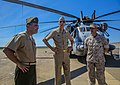 U.S. Navy Adm. Samuel J. Locklear, center, the commander of U.S. Pacific Command; U.S. Marine Corps Lt. Col. Matthew Puglisi, left, the officer in charge of Marine Rotational Force-Darwin (MRF-D); and Maj 140416-M-SE196-003.jpg