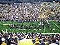 UConn vs. Michigan 2010 05 (UConn Marching Band).JPG