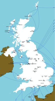 Map Of Uk Ferry Routes.Ferry Routes To Great Britain Travel Guide At Wikivoyage