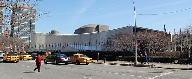 The United Nations General Assembly building UN General Assembly building.jpg