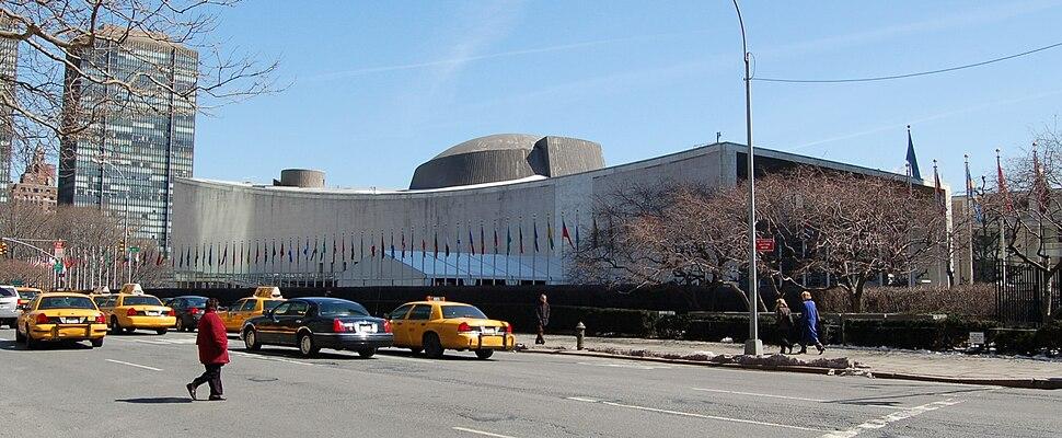 UN General Assembly building