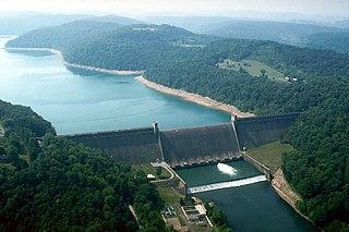 Tygart Dam United States historic place
