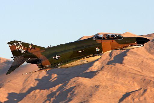 USAF McDonnell Douglas QF-4E Phantom II