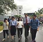 USAID Vietnam Mission Director Michael Greene visits Hue University of Medicine and Pharmacy (36815580933).jpg