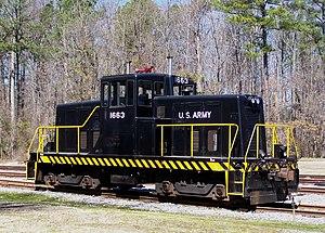 GE 80 Ton Locomotive