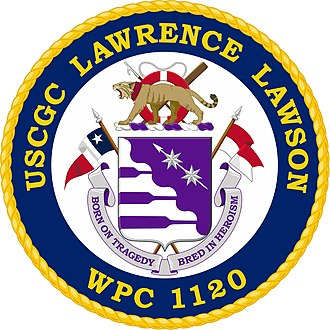 USCGC Lawrence O. Lawson - Image: USCGC Lawrence Lawson (WPC 1120) Co A