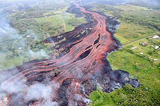 volcanic event on the island of Hawaiʻi, on Kīlauea volcano