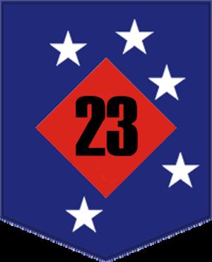 23rd Marine Regiment (United States) - 23d Marines insignia