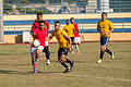 USS Bonhomme Richard sailors play soccer in Malaysia 150224-N-UF697-286.jpg