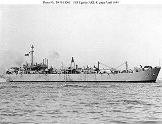 USS <i>Egeria</i> (ARL-8)