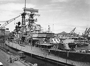 USS Little Rock (CLG-4) at Boston Naval Shipyard 1971.jpg