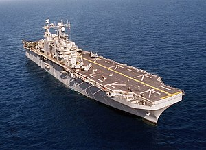 Landing Helicopter Assault - Image: USS Tarawa (LHA 1)