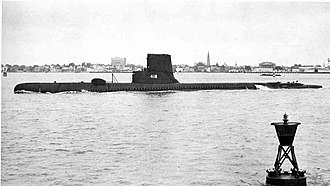 Greater Underwater Propulsion Power Program - USS ''Thornback'' (SS-418) after GUPPY IIA modernization
