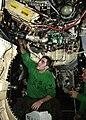 US Navy 021004-N-8794V-002 F-A-18E fuselage maintenance.jpg