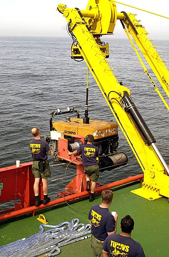 Scorpio ROV - U.S. Navy Super Scorpio ROV