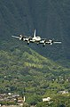 US Navy 040707-N-6932B-019 A U.S. Navy P-3C Orion approaches the landing area at Marine Corps Air Station Kaneohe, Hawaii.jpg