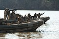 US Navy 070123-N-5758H-134 Sailors assigned to Riverine Squadron One (RIVRON-1), based at Naval Amphibious Base Little Creek, train aboard Small Unit River Craft (SURC), during a unit-level training exercise.jpg