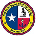 US Navy 090506-N-0000X-002 The new Naval Medical Research Unit San Antonio logo command logo.jpg