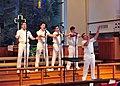 US Navy 091003-N-6914S-040 Members of the U.S. Navy Band Sea Chanters chorus perform at St. Marks Lutheran Church in Springfield, VA.jpg