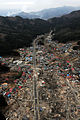 US Navy 110315-N-5503T-282 An aerial view of damage to Wakuya, Japan after a 9.0 magnitude earthquake and subsequent tsunami devastated the area in.jpg