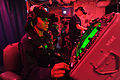 US Navy 110426-N-0569K-012 Operations Specialist 3rd Class Lakysha C. Brown operates the SPA-25G console to track surface contacts aboard the aircr.jpg