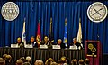 US Navy 120124-N-CJ186-045 A panel of military officials field questions how the Navy and Marine Corps would face future challenges during West 20.jpg