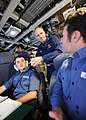 US Navy 120126-N-WL435-428 Chief of Naval Operations (CNO) Adm. Jonathan Greenert observes the crew of the Royal Navy Astute-class submarine HMS As.jpg
