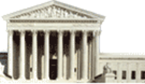 Copyright aspects of hyperlinking and framing - Front view of the US Supreme Court, uploaded to Wikipedia server