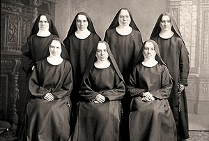 University of Mary - The first Benedictine sisters to arrive in Bismarck, ND