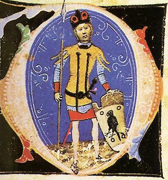 Ügyek - Ügyek depicted in the Illuminated Chronicle
