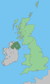 Uk map home nation northern ireland.png