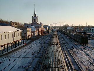 Bahnhof Uljanowsk-1