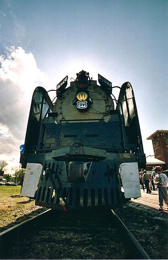 Union Pacific 844 - Union Pacific 844 on display in 2009.